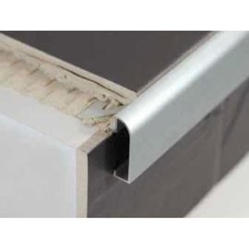 Aluminium Worktop Countertop Edging For Tiles - 2.5m.