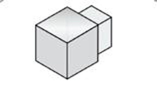 Internal & External Corners For Aluminium Square Edge Tile Trim