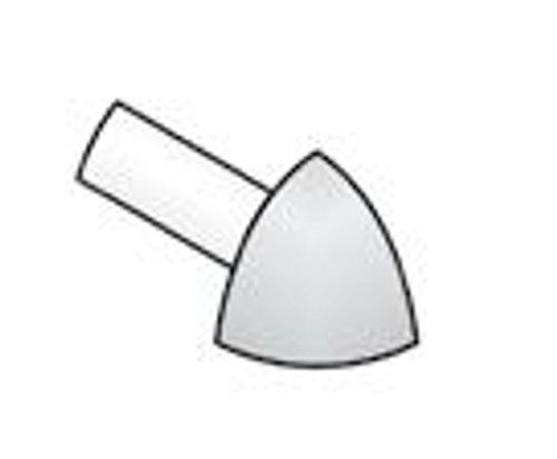 External Corner Y For Stainless Steel Quadrant Tile Trim