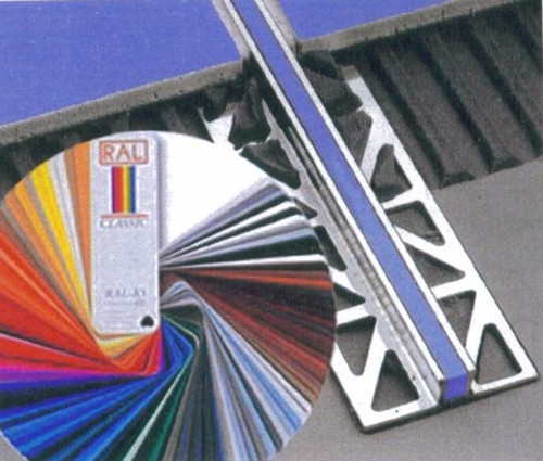 Aluminium Coloured Expansion Joint Profiles-2.5m