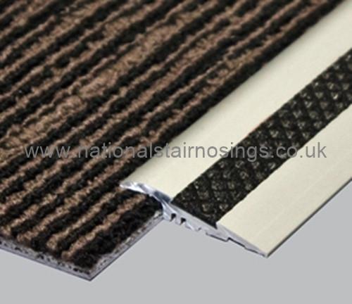 Indoor/Outdoor Anti Slip Ramp Profile For Carpet/Vinyl/Bare Floor Transitions - 2.5m