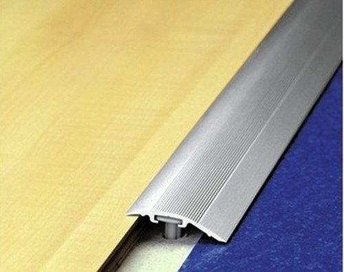 Aluminium Transition Threshold Ramp Strips For 6-17mm Height Difference