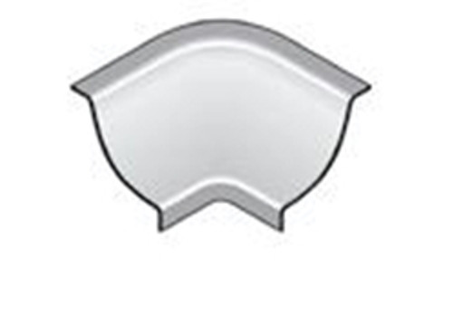 Internal Corner XI For Stainless Steel Wall/Floor Junction For Bathrooms