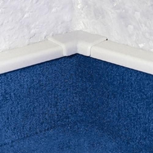 Internal Corner XI For PVC Carpet Skirting With Bridge.