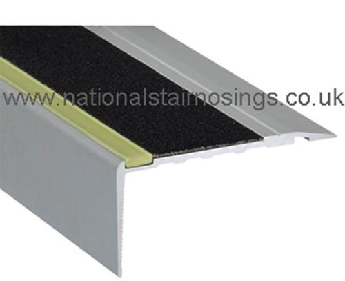 Glow In Dark Outdoor Anti Slip Stair Nosing,Ramp Profile