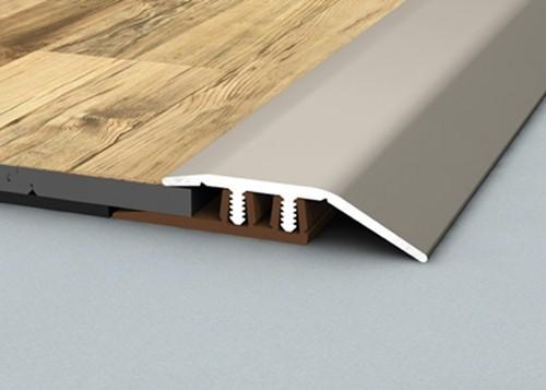 Aluminium Transition Reducer Profile For 4-7mm High Flooring