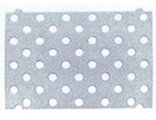 Adhesive Template For Tactile Studs For Adhesive Fixing