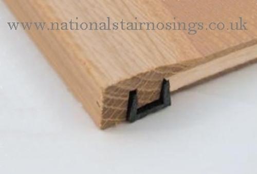 Solid Wood Hardwood End Bar Moulding