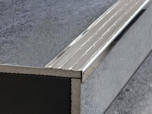 Stainless Steel Stair Nosing - 2.5m