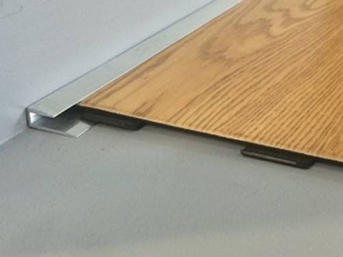 Aluminium Capping Edge For LVT/Lino Flooring-2.5m