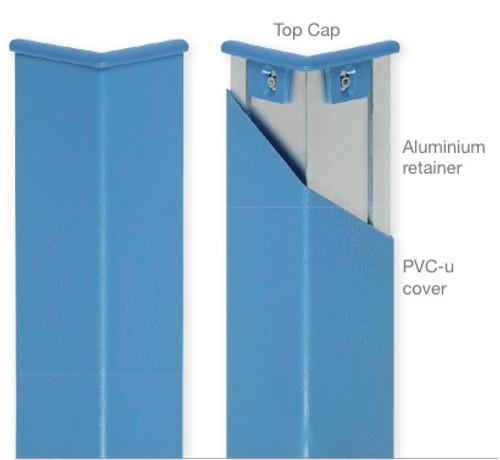 PVC-u Corner Guard With Aluminium Retainer
