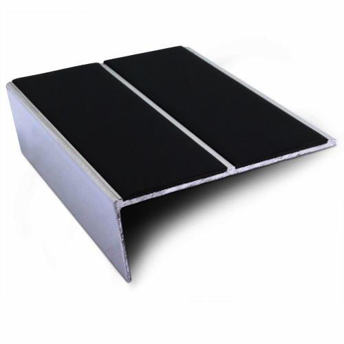 Double Channel Rake Back Stair Nosing For Vinyl/Lino