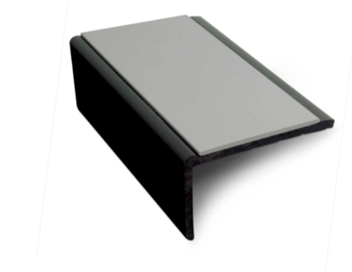Hard Nose PVC Square Stair Nosing For Vinyl/Lino-3.2m