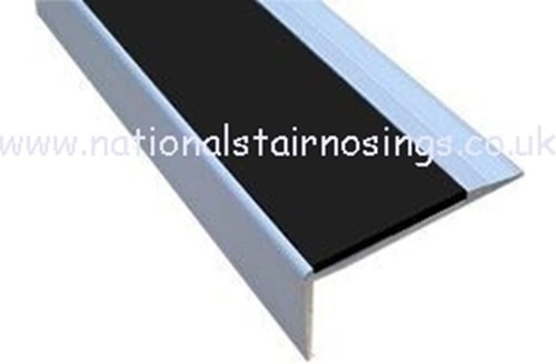 Anti Slip Aluminium Stair Nosing Step Edge Ramp Profile.