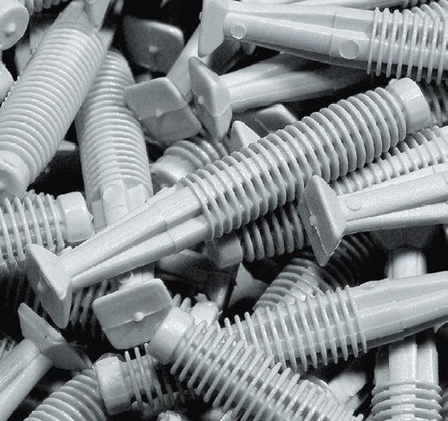 Plastic Plugs for Aluminium Transition Threshold Strips (pack of 6)