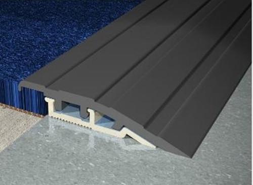 PVC-u Clip Top Ramp Profile - 2.5m