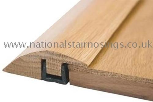 Solid Wood Hardwood Ramp Door Bar Threshold Strip For Different Level Flooring