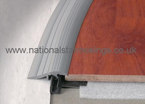 PVC-u Bendable Clip Top Ramp Profile - 2.5m