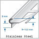 Stair Nose Edging For Tiles - 2.5m