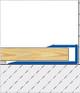 Push In Square Edge Trim For Laminate & Wood- 2.7m