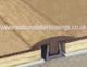 Solid Wood Hardwood T Door Bar Threshold Strips For Same Level Flooring