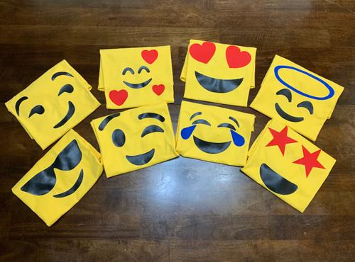 Custom Emoji T-Shirt - Yellow