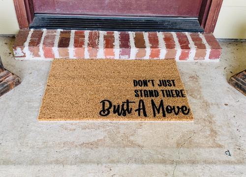Bust a Move Doormat