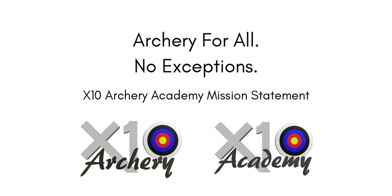 Archery For All. No Exceptions.