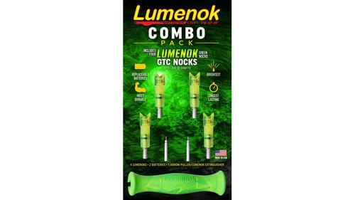 LUMENOK GOLDTIP LIGHTED NOCK COMBO PACK