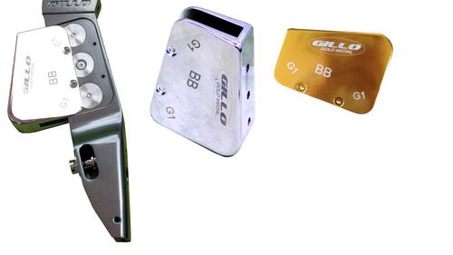 Gillo G1/G2 BB Riser Cover - Brass
