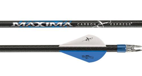 Carbon Express Maxima Blue Streak Arrows x6