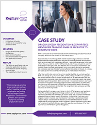 Biotechnology & Pharmaceutical Return to Work case study icon