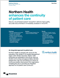 Northern Health case study icon