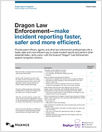 Dragon Law Enforcement feature matrix icon