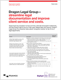 Dragon Legal Group feature matrix icon