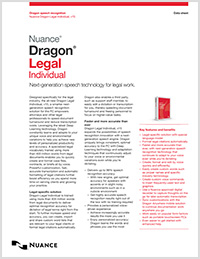 Dragon Legal Individual brochure icon