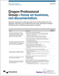 Dragon Professional Group feature matrix icon