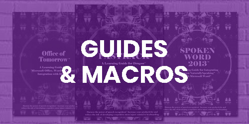 Guides and Macros