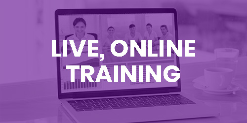 Live, Online Training