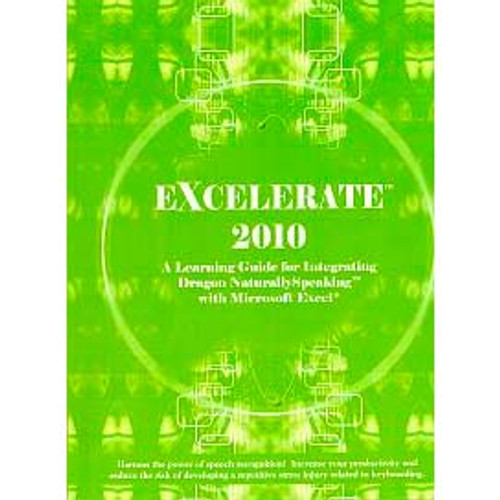 (Electronic Version) Zephyr-TEC Excel 2010 Learning Guide and Macros for NaturallySpeaking