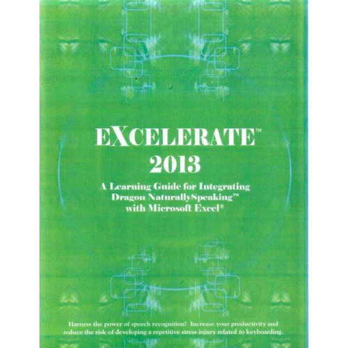 (Electronic Version) Zephyr-TEC Excel 2013 Learning Guide and Macros for NaturallySpeaking