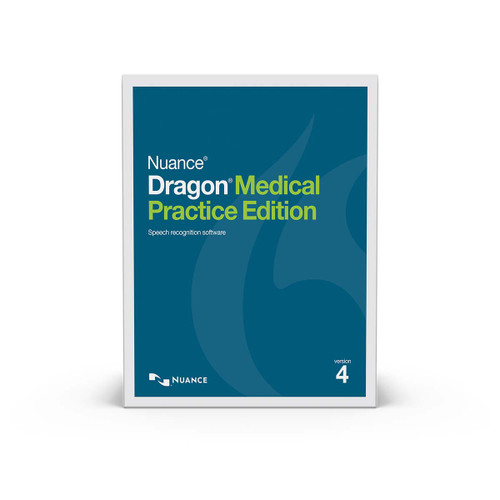 Dragon Medical Practice Edition 4 with Software Maintenance