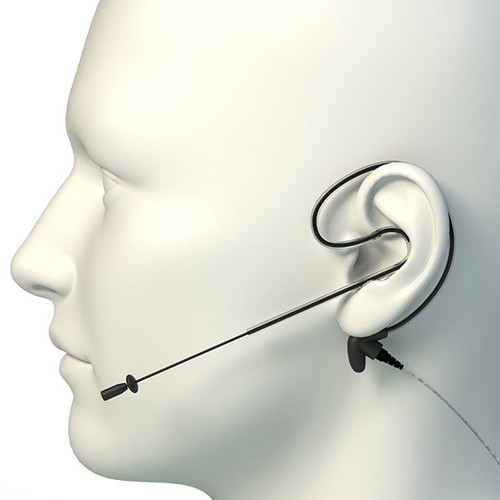 FlexyMike Single ear w/USB MultiAdapter