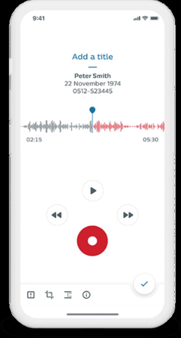 Philips SpeechLive App