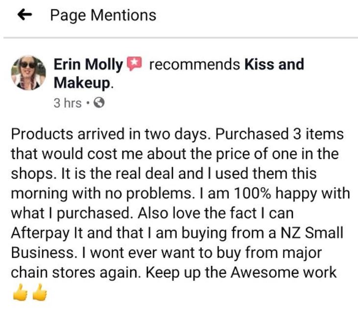 Erin Molly recommends Kiss and Makeup