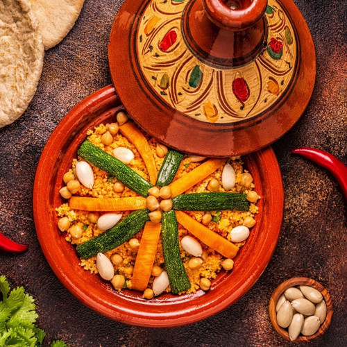 Moroccan vegetable style Couscous