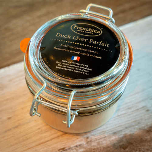 Frenchies Home dining duck liver parfait