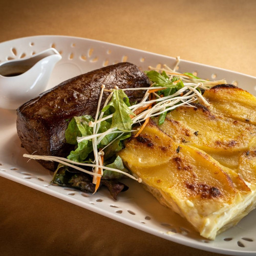 Beef Chateaubriand, dauphinoise potatoes