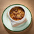 Restaurant plated french onion soup
