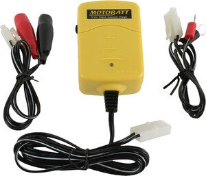 Motobatt Baby Boy 500 mAh Powersports Battery Charger